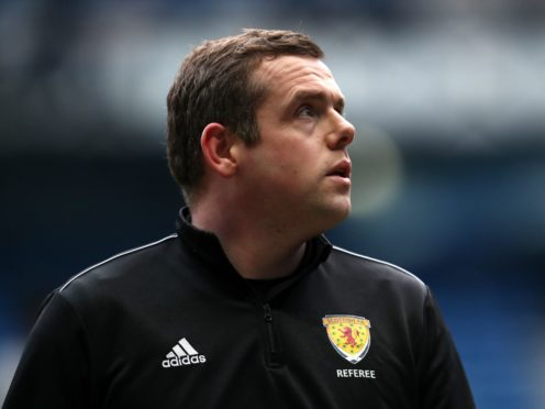 Douglas Ross said he took 'flak' both as leader of the Scottish Tories and as an assistant referee at football matches (Andrew Milligan/PA)