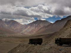 The India-China border in India's Ladakh area (AP/Manish Swarup)