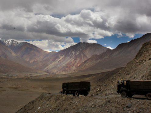 The India-China border in India's Ladakh area (AP/Manish Swarup)