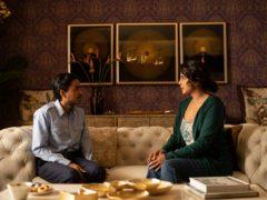 Adarsh Gourav  as  Balram  and  Priyanka Chopra  as  Pinky Madam (Singh Tejinder/Netflix)