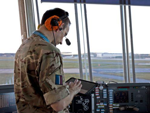 The new Robin Radar at RAF Lossiemouth (handout/PA)