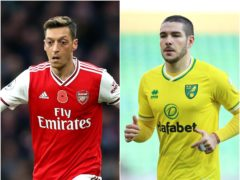 Mesut Ozil and Emi Buendia are in the latest transfer rumours (Paul Harding/Nigel French/PA)