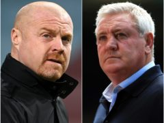 Sean Dyche and Steve Bruce (Michael Regan/Mike Egerton/PA)