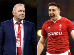 Wales boss Wayne Pivac says that wing Josh Adams has embarrassed himself' (PA)