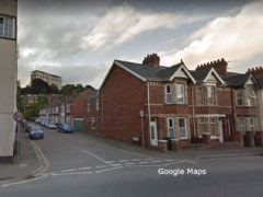 The blaze took place on Clayton Road in the St David's area of Exeter (Google Maps)