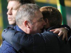 Ally McCoist, left, feels leaving Celtic is the right thing for Neil Lennon (Lynne Cameron/PA)