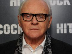 Sir Anthony Hopkins won best actor at the Bifas (Andrew Matthews/PA)