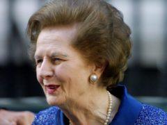 Margaret Thatcher (Peter Jordan/PA)