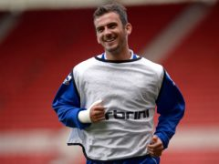 Gavin Gunning scored Chesterfield's winner at Notts County (Owen Humphreys/PA)