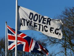 "Dover chairman Jim Parmenter has threatened to ""cease football operations"" (Gareth Fuller/PA)"