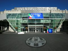 Juventus' Allianz Stadium will host Manchester United's clash with Real Sociedad (Mike Egerton/PA)