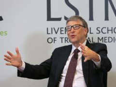 'People's interest in what he says may go down quite a bit,' Microsoft co-founder says (Dave Thompson/PA)