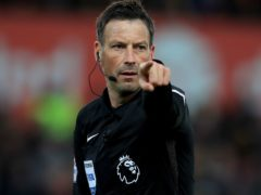 Mark Clattenburg had been part of the PGMOL Select Group of referees since 2004 (Mike Egerton/PA).