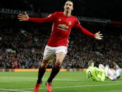 Zlatan Ibrahimovic is returning to Old Trafford (Martin Rickett/PA)