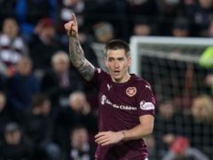 Jamie Walker scored his 50th goal for Hearts (Jeff Holmes/PA)