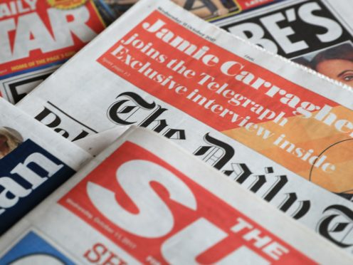 What the papers say – February 26 (PA)