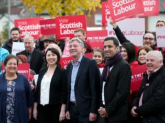 Scottish Labour has announced the order for its list of regional candidates ahead of May's Holyrood elections (Jane Barlow/PA)