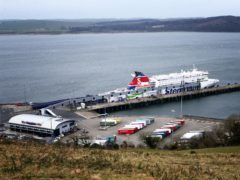 The Scottish Government is preparing to create a new border control post at Cairnryan (Jane Barlow/PA)