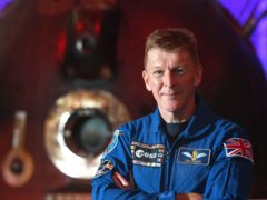 British astronaut Tim Peake said he would not have any concerns about flying to space with someone who has a physical disability (Joe Giddens/PA)