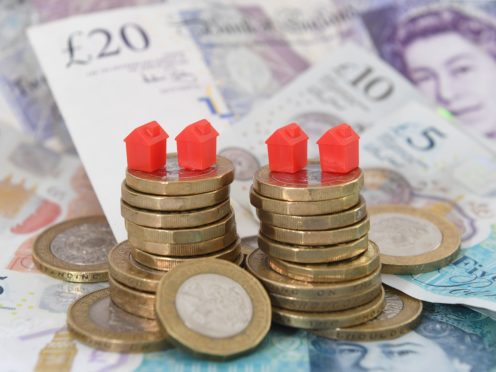 Chancellor Rishi Sunak plans to incentivise lenders to provide mortgages to first time buyers (Joe Giddens/PA)