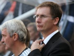 Glenn Roeder has died aged 65 (Owen Humphreys/PA)