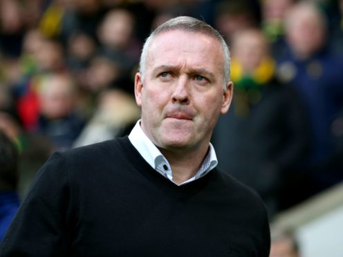 Paul Lambert saw his side claim a narrow win over Doncaster (Nigel French/PA)