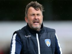 Colchester manager Steve Ball (Richard Sellers/PA)
