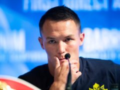 It is back to the drawing board for Josh Warrington (Danny Lawson/PA)