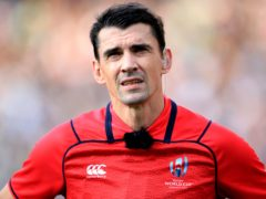 French referee Pascal Gauzere awarded Wales two disputed tries against England (Adam Davy/PA)