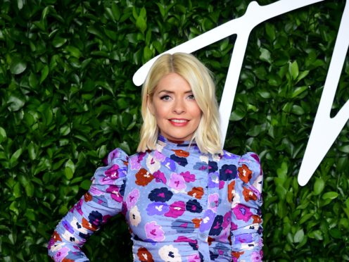 Holly Willoughby is celebrating her 40th birthday (Ian West/PA)