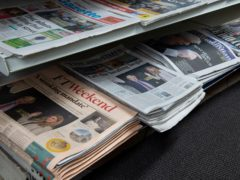 MSPs debated support for the newspaper industry (David Mirzoeff/PA)