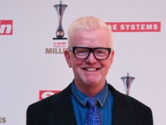 Chris Evans was joined on air by his urologist as he returned to host his Virgin Radio show after a two-week break due to kidney stone surgery (Kirsty O'Connor/PA)