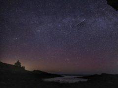 The night sky viewed from near Howick, Northumberland (Owen Humphreys/PA)