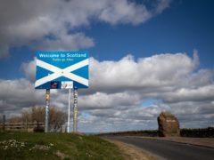 A loophole could see travellers land in England and drive across the border to Scotland, avoiding quarantine (Jane Barlow/PA)