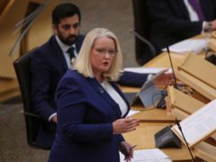 Scotland's minister for older people, Christina McKelvie, will be on medical leave from Monday (Fraser Bremner/Scottish Daily Mail/PA)