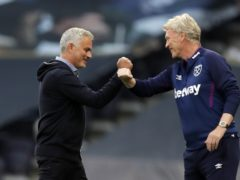West Ham manager David Moyes has failed to beat Jose Mourinho in 15 attempts (Kirsty Wigglesworth/NMC Pool/PA)