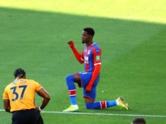 "Wilfried Zaha believes taking the knee before matches is ""degrading"" (Richard Heathcote/NMC Pool/PA)"