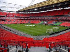 Wembley will host the Papa John's Trophy final (Justin Tallis/PA)