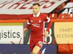 On-loan Aberdeen striker Bruce Anderson was on target (PA)