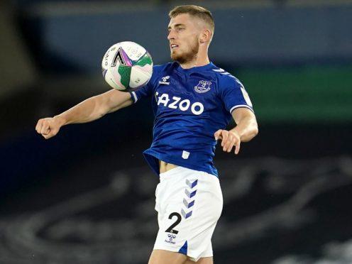 Everton's Jonjoe Kenny could be set for Celtic (PA)