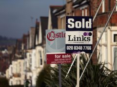 Annual house price growth has slowed for the first time in six months as the end of the stamp duty holiday approaches, according to Nationwide Building Society (Yui Mok/PA)