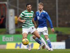David Wotherspoon (right is loving life at St Johnstone (Andrew Milligan/PA)