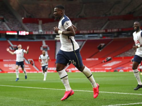 Serge Aurier has missed the last four games with a hamstring injury (Carl Recine/PA)