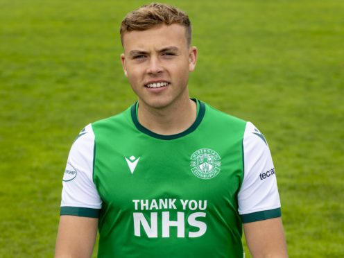 Ryan Porteous insists he is fully committed to Hibernian (Alan Rennie/PA)