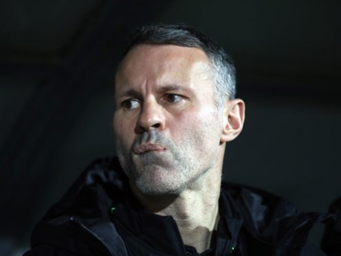 Ryan Giggs is the manager of Wales (Bradley Collyer/PA).