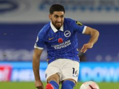 Alireza Jahanbakhsh has missed Brighton's last nine matches (Gareth Fuller/PA)