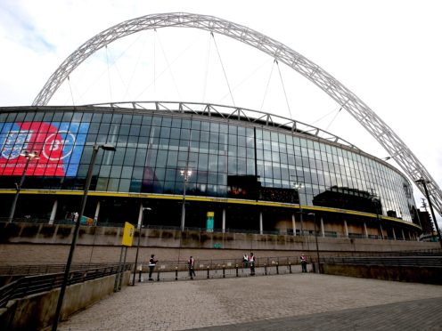 Wembley is set to host seven matches at Euro 2020 (Nick Potts/PA)