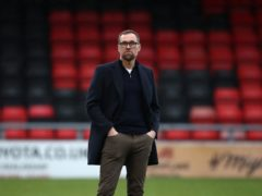 David Artell was not happy with Crewe's display (Tim Goode/PA)