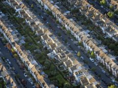 The average UK house price reached a record high of £252,000 in December 2020, according to the Office for National Statistics (Victoria Jones/PA)