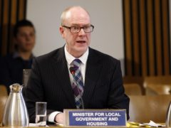Kevin Stewart made an announcement on Thursday (Andrew Cowan/Scottish Parliament/PA)